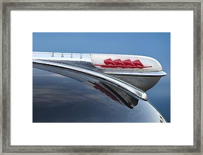 1947 Plymouth Hood Ornament Framed Print