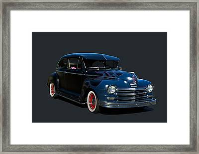 1947 Plymouth Framed Print by Tim McCullough