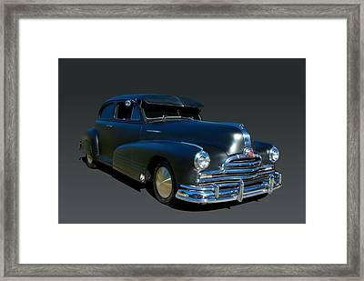 1947 Pontiac Torpedo Silver Streak Framed Print by Tim McCullough