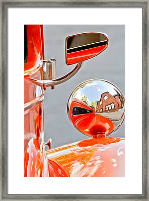 1948 Anglia Rear View Mirror -451c Framed Print