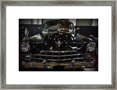 1948 Cadillac Front Framed Print