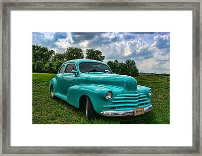 1948 Chevrolet Coupe Framed Print