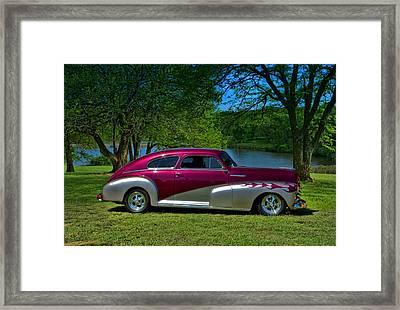 1948 Chevrolet Fleetline Sedan Framed Print