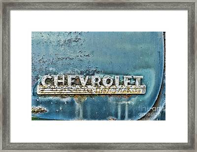 1948 Chevrolet Thrift Master Framed Print by Paul Ward
