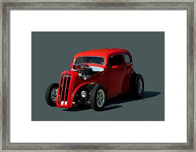 1948 English Ford Anglia Dragster Framed Print by Tim McCullough