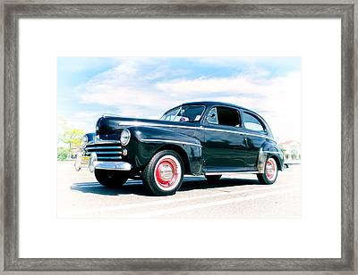 1948 Ford 2 Door Sedan Framed Print