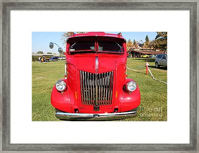 1948 Ford Cabover Tow Truck 5d26530 Framed Print
