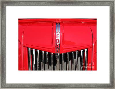1948 Ford Cabover Tow Truck 5d26532 Framed Print