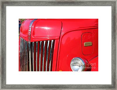 1948 Ford Cabover Tow Truck 5d26536 Framed Print