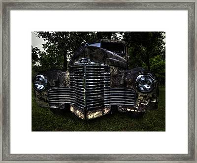 1948 International Truck Framed Print by Thomas Young