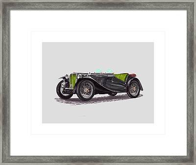1948 M G T C  Framed Print