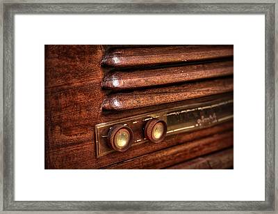 1948 Mantola Radio Framed Print by Scott Norris