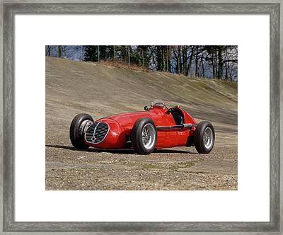 1948 Maserati 4clt48 Gp Single Seater Framed Print by Panoramic Images