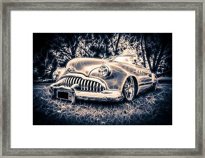 1949 Buick Eight Super Framed Print by motography aka Phil Clark