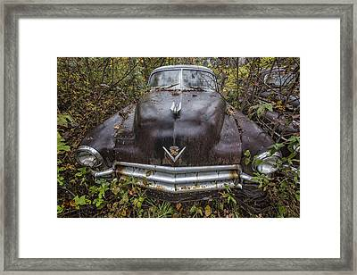 1949 Cadillac Framed Print by Debra and Dave Vanderlaan