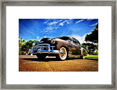 1949 Chevrolet Deluxe Framed Print