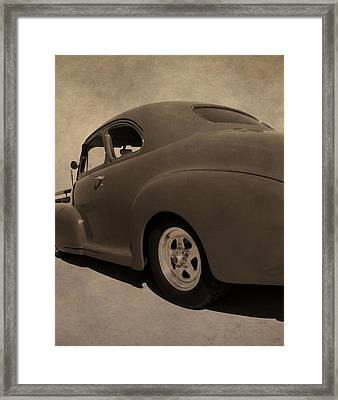 1949 Chevy Fleetline Framed Print