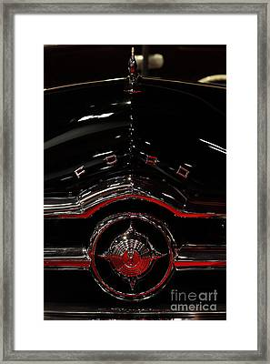1949 Ford Custom Convertible Coupe - 5d20082 Framed Print by Wingsdomain Art and Photography