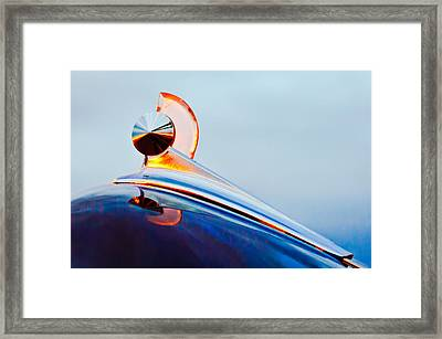 1949 Ford Hood Ornament 2 Framed Print by Jill Reger