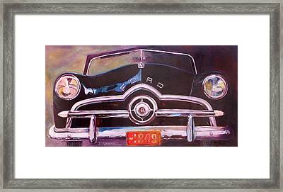 1949 Ford Framed Print by Ron Patterson