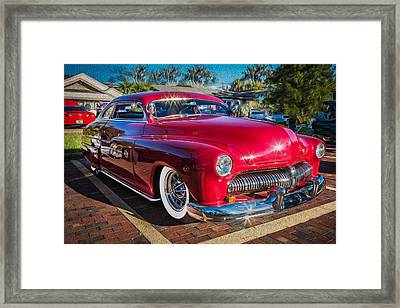 1949 Mercury Club Coupe Painted   Framed Print by Rich Franco