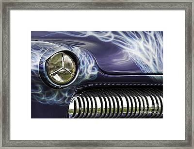 1949 Mercury Eight Hot Rod Framed Print by Tim Gainey