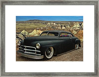 1949 Plymouth Low Rider Framed Print by Tim McCullough