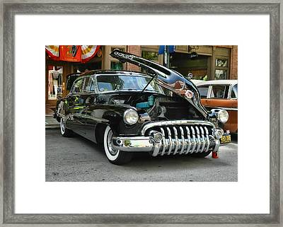 1950 Buick 2 Framed Print by Victor Montgomery