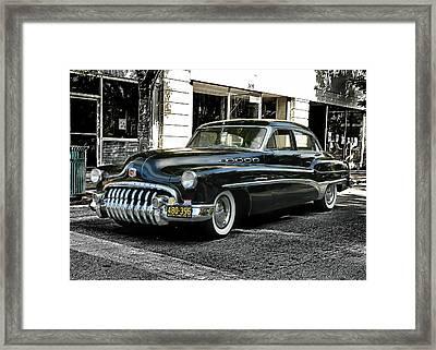 1950 Buick Framed Print
