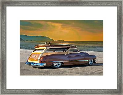 1950 Buick Woody Wagon Iv Framed Print by Dave Koontz