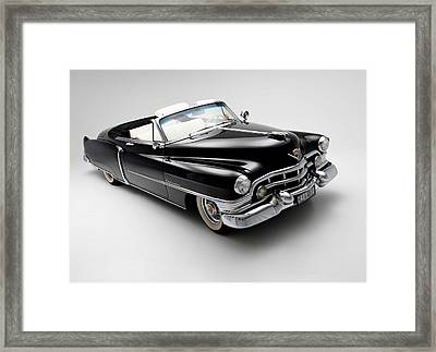 Framed Print featuring the photograph 1950 Cadillac Convertible by Gianfranco Weiss
