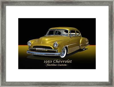 1950 Chevrolet Fleetline I Framed Print