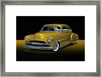 1950 Chevrolet Fleetline II Framed Print