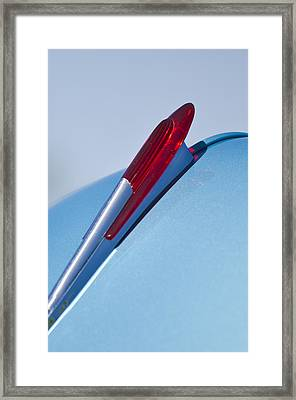 1950 Chevrolet Hood Ornament Framed Print by Jill Reger