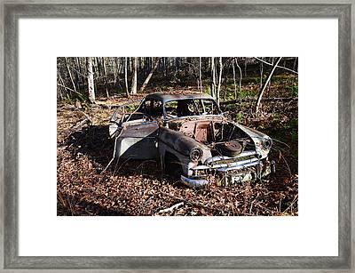 1950 Chevy Fleetline Delux Framed Print