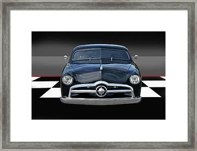 1950 Ford Custom I Framed Print by Dave Koontz