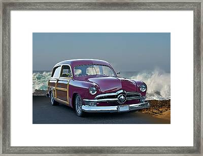 1950 Ford Surf'n Wagon II Framed Print by Dave Koontz