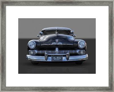 1950 Mercury Framed Print by Frank J Benz