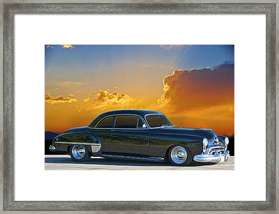 1950 Oldsmobile Coupe Framed Print by Dave Koontz