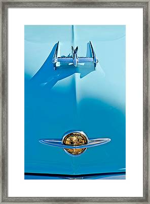 1950 Oldsmobile Hood Ornament Framed Print by Jill Reger