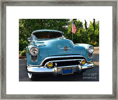 1950 Oldsmobile Framed Print