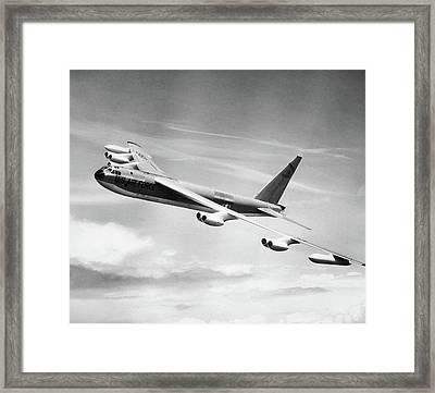 1950s 1955 B-52e Us Air Force Strato Framed Print