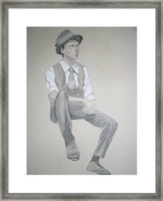 1950s Framed Print by Jessica Sanders