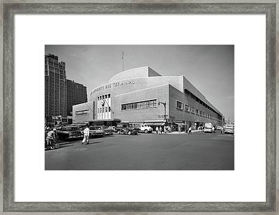 1950s Port Authority Bus Terminal 8th Framed Print