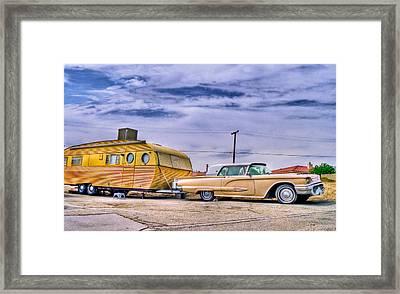 1950s Thunderbird Framed Print