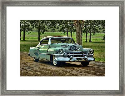 1951 Cadillac Framed Print by Tim McCullough
