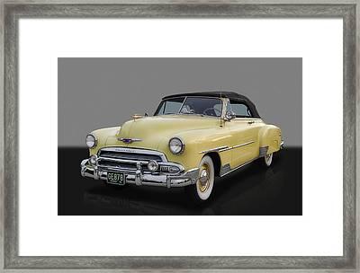 1951 Chevrolet Deluxe Framed Print by Frank J Benz