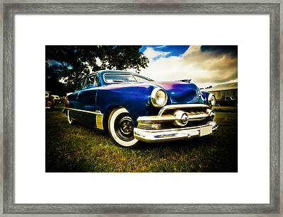 1951 Ford Custom Framed Print by Phil 'motography' Clark