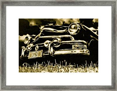 1951 Ford V8 Convertible Framed Print by Phil 'motography' Clark