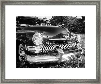 1951 Mercury Coupe - American Graffiti Framed Print by Edward Fielding